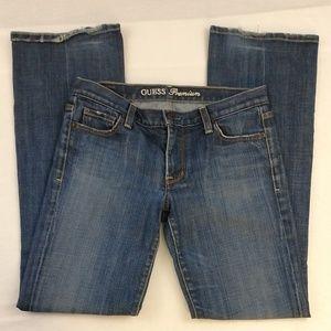 Guess Premium Stretch Boot cut Medium Wash Jeans